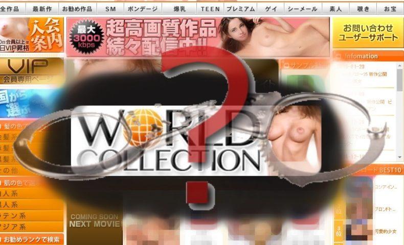 ワールドコレクション利用で逮捕の危険はあるのか