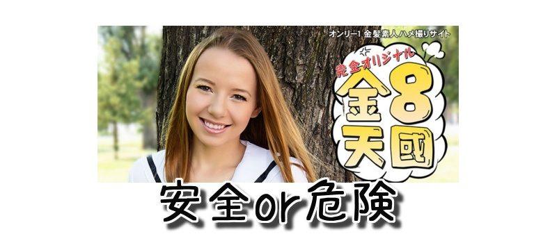 金髪(金8)天国(kin8tengoku.com)のクレジットカード決済は安全に利用できるのか